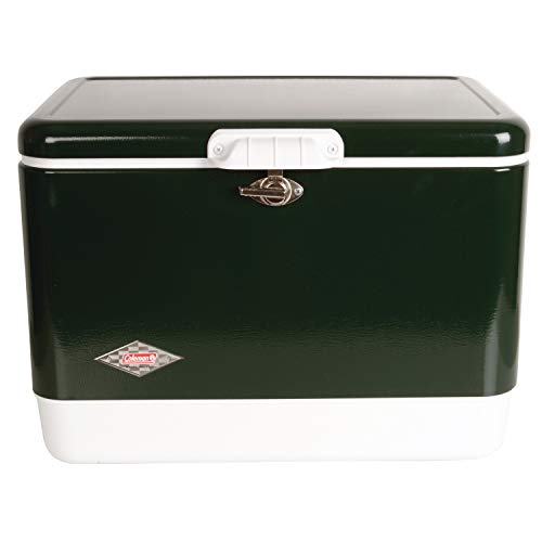 Coleman Cooler | Steel-Belted Cooler Keeps Ice Up to 4