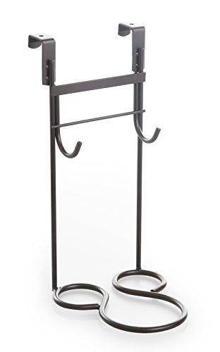 BINO Over-the-Cabinet Dryer and Iron Holder, Bronze