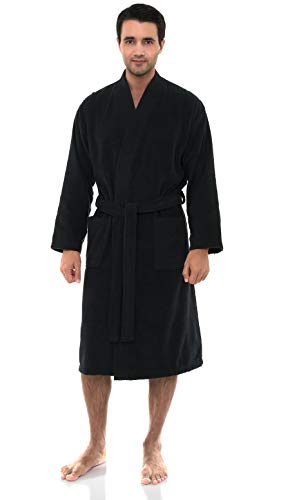 Pirate Clothing Ideas (TowelSelections Men's Robe Low Twist Cotton Terry Kimono Bathrobe Small/Medium Pirate)