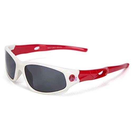 Kids Polarized Sunglasses Flexsible Sport Glasses for Boy & Girl - Shades Boys