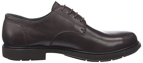 Camper Neuman, Scarpe Stringate Oxford Uomo Marrone (Dark Brown 200)