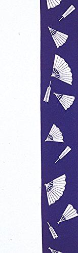 労苦つかの間悪名高い踊り衣裳 注染 踊り手拭 ナ印 紫×白 てぬぐい メンズ レディース