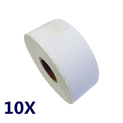 NEXTPAGE® 1-1/8 inch shipping label roll compatible for Dymo 30252 (1-1/8
