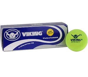 Viking Extra Duty Platform Tennis Balls Yellow (4 Sleeves)