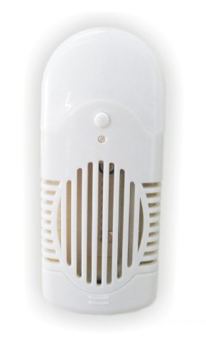 No.2 Warehouse Washroom Bedroom Wall Plug Ozone Anions Air Purifier Cleaner LED Light (SH-1002)+ a Piece of Clean Cloth