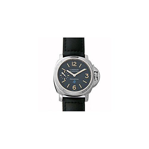 Panerai Luminor Marina Black Dial Mens Hand Wound Watch PAM00631