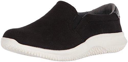 Dr. Scholl's Shoes Women's Fresh Two Moccasin, Black Microfiber, 7.5 M US