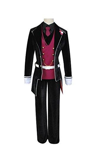 Kanato Sakamaki Costume (Cosplaybar DIABOLIK LOVERS Vampire Sakamaki Reiji Cosplay Costume Female XS)