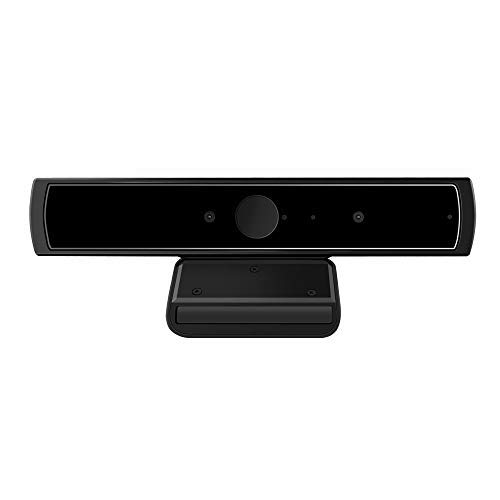 LilBit Face Recognition USB IR Camera for Windows Hello Windows 10 system, RGB 720P Webcam with Dual Microphone for Streaming Video Conference and YouTube Recording for Windows (Best Dual Camera Setup)