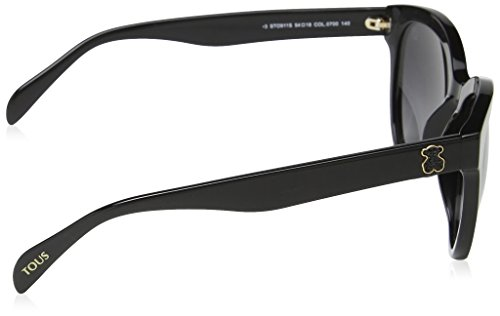 Mujer Tous para Sol Black Gafas de Shiny xqpwH0CpgP