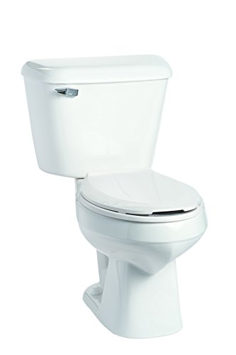 Mansfield Plumbing 135.160.WHT Elongated Front Toilet, White