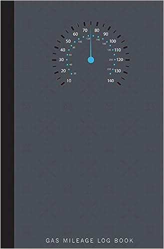 amazon gas mileage log book gas mileage record book record for