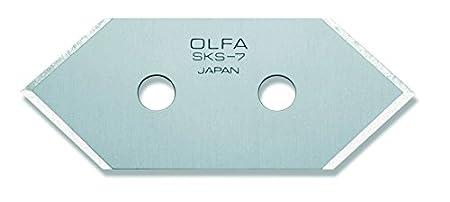 OLFA 21385-5 lame di ricambio per taglierino, con astuccio MCB-1