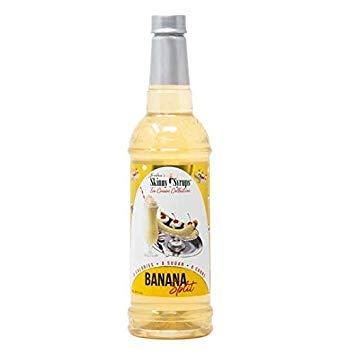 Jordan's Skinny Syrups Sugar Free Banana Split Syrup | Gluten Free | Keto | Kosher | Made in the USA