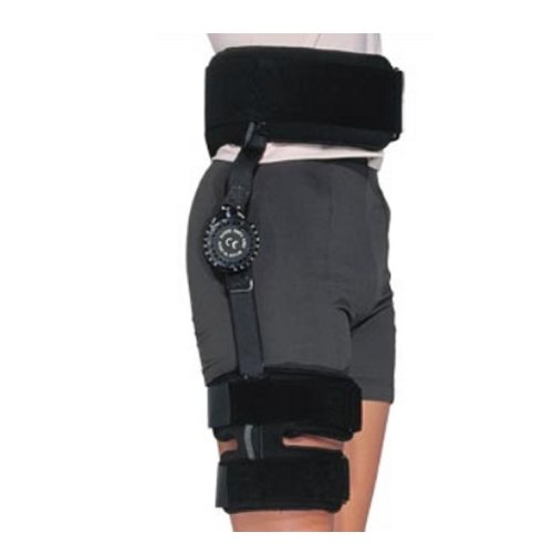 Bledsoe Philippon PostOp Hip BraceHip Brace OnlyRegularRight Hip by Bledsoe Braces