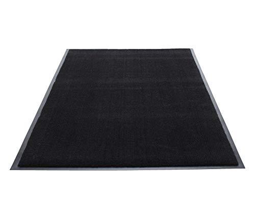 Guardian Silver Series Indoor Walk-Off Floor Mat, Vinyl/Polypropylene, 4