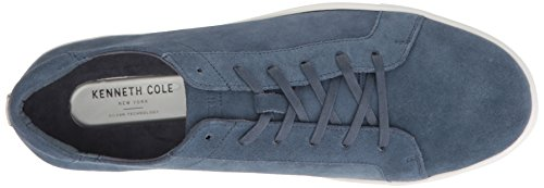 Kenneth Cole New York Hommes Kam Sneaker Acier Daim