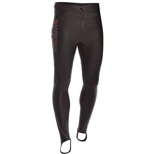 Sharkskin Men's Chillproof Wetsuit Long Pants, XX-Large, Black by Sharkskin (Image #1)