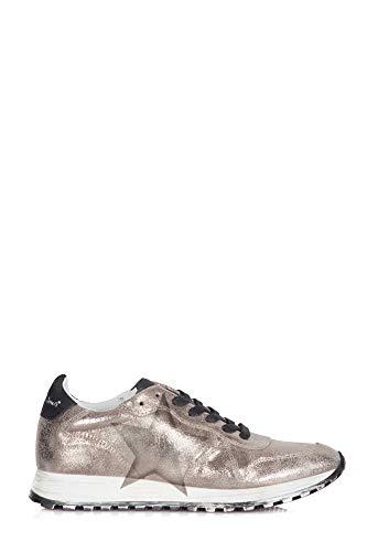 Sneakers Best12 Pelle Rubens Donna Nira Oro Tqp5a