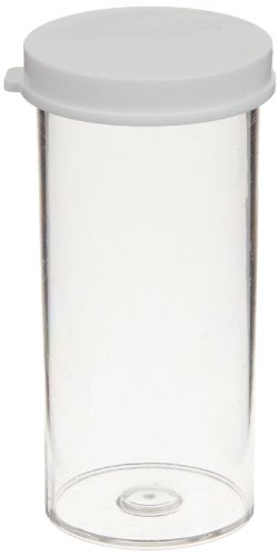 (Delta Education 13 Dram Plastic Vial with Lid (Pack of 10))