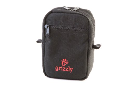 Grizzly Wilderness Medium Modular Gear Bag Waist Pack for Belt, Utility Belt or MOLLE system for Hunting, Fishing, Hiking, Camping, Outdoors to carry Outdoor Gear, Fishing Gear, Hunting Knife, Hunting Equipment, Hunting Accessories, Fishing Knife, Fishing Equipment, Fishing Accessories, Camping Gear, Camping Equipment for Hunting, Fishing, Hiking, Canoeing, Camping, Running Equipment, Biking Equipment (Grizzlies Gear)