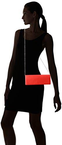 Mujer Rot Cadena para Adicional Clutch Rojo de Berydale con Bandolera satén vagIgq