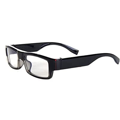 Spy-MAX Security Products Stylish Glasses DVR Camera, Includes Free eBook