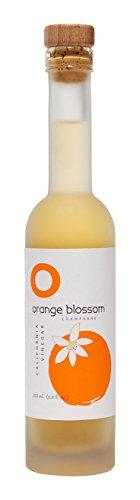 O OLIVE OIL & VINEGAR Orange Blossom Champagne Wine Vinegar, 6.76 Fluid Ounce