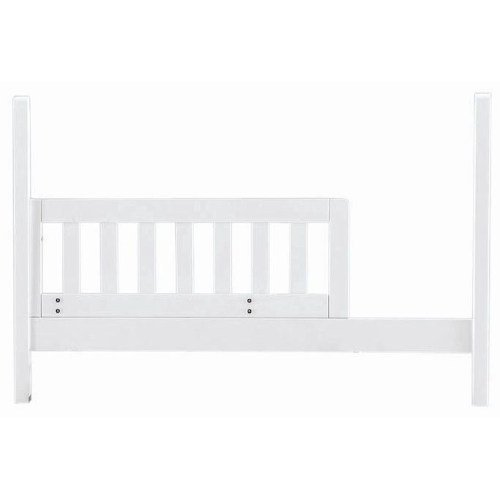 Built to Grow Toddler Bed Kit Safety Rail w/Daybed Conversion Kit for Young America Cribs (White)