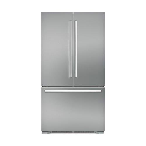 Bosch B21CT80SNS 800 Series 36 Inch Counter Depth French Door Refrigerator in Stainless Steel