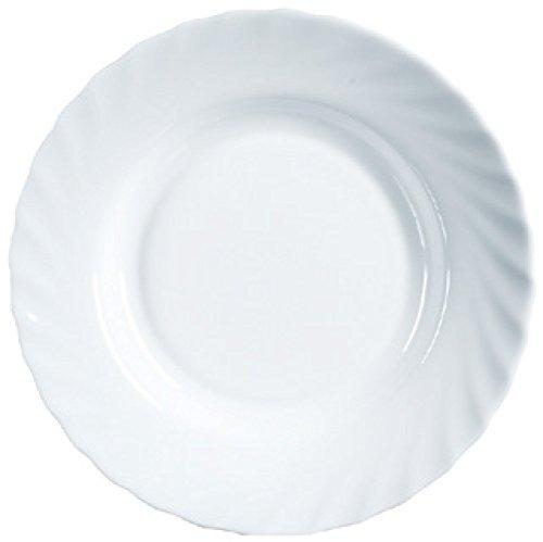 Luminarc 23Cm Trianon White Soup Plate
