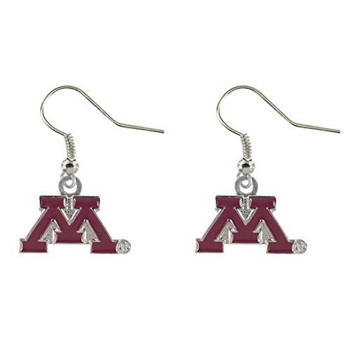 NCAA Minnesota Golden Gophers Logo Dangler Earrings