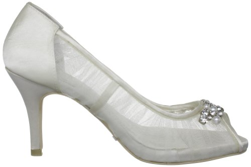 da Avorio Elfenbein Kashia sposa Scarpe tacco Wedding 5355 Menbur col 04 Ivory wxHq8nWIg1