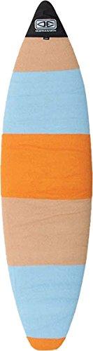 Ocean & Earth Shortboard SOX Board Cover Orange Stripe 7'