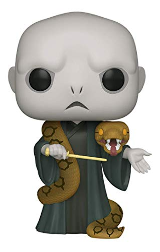 Funko- Pop Harry Potter 10 Voldemort w/Nagini S10 Figura Coleccionable, Multicolor (48037)