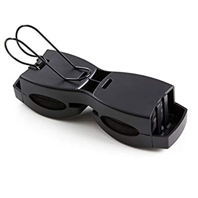 SUPERIOR ESSENTIALS Locking Double Sunglasses Holder for Sun Visor-Securely Holds Glasses & Sunglasses on Sun-Visor: Automotive