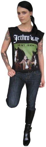 Value-Merch Men's Jethro Tull Heavy Horses T-Shirt X Extra-Large Black (o147)