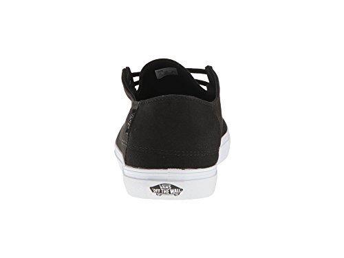 7e45e120a85390 Vans Rata Vulc SF Black Frost Gray Mens Shoes (7 Men