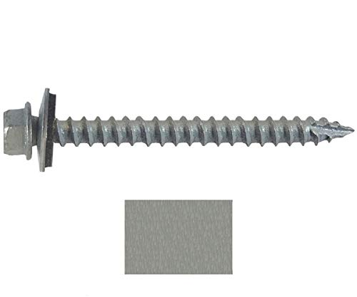 #14 Metal ROOFING SCREWS: (250) Screws x 2-1/2