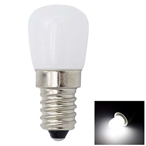 - LED Bulb Light E12 E14 Bright Home Glass Desk Energy Saving Refrigerator Corridor Pendant Patch Display Accessories Office Furniture(E12Cold White)