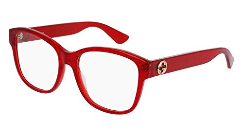 Eyeglasses Gucci GG 0038 O- 004 004 RED / ()