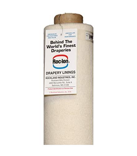 Roc-lon Bump 70-Percent Cotton/30-Percent Polyester interlining for Window by Roc-lon (Image #5)