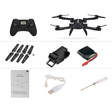 MAOFALZZNA RC Drone 4CH 6 Axis 2.4G with HD Camera 720P RC Quadcopter FPV/LED Lights/One Key to Auto-Return RC Quadcopter/Remote Controller/Transmitter / USB Cable/Auto-Takeoff
