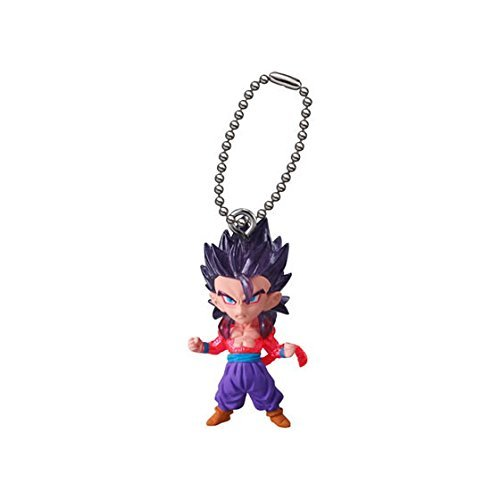 (Gashapon DRAGON BALL SUPER UDM THE BEST 17 Super saiyan 4 Son Gohan with keychain capsule toy)