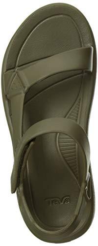 Teva Women's W Hurricane Drift Sport Sandal, Burnt Olive, 9 Medium US
