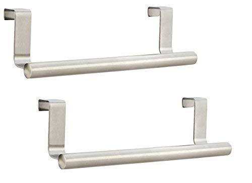 Pro Chef Kitchen Tools Towel Bar - Kitchen Towel Hooks Set of 2 Steel ...
