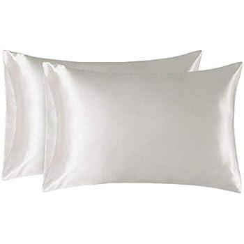 Amazon Com Hello Beautiful King Size Satin Pillowcases