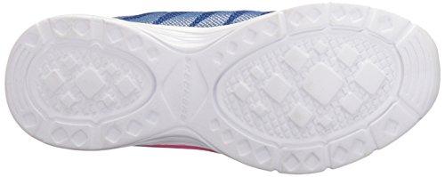 Skechers Kids Girls Dream NDash-Whimsy Sneaker, Blue/Pink, 12.5 M US Little Kid