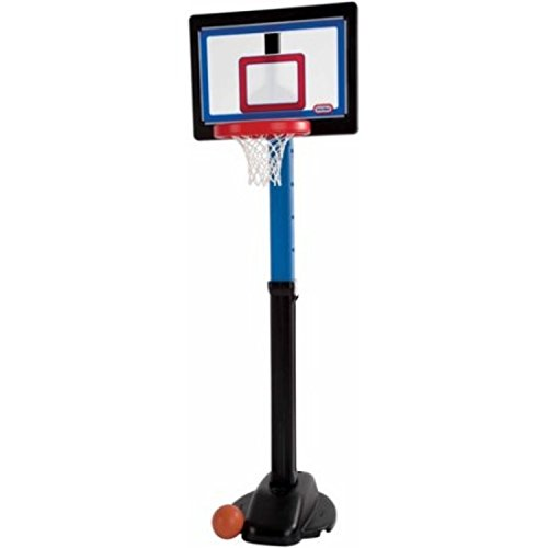 Kids' Like A Pro Adjustable Heights Indoor Outdoor Basketball Set