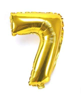 SeedWorld Ballons & Accessories - 32inch Gold Silver Number Foil Balloons Digit air Ballon Birthday Party Wedding Decorations Figure Balloon Party Supplies Globos 1 -